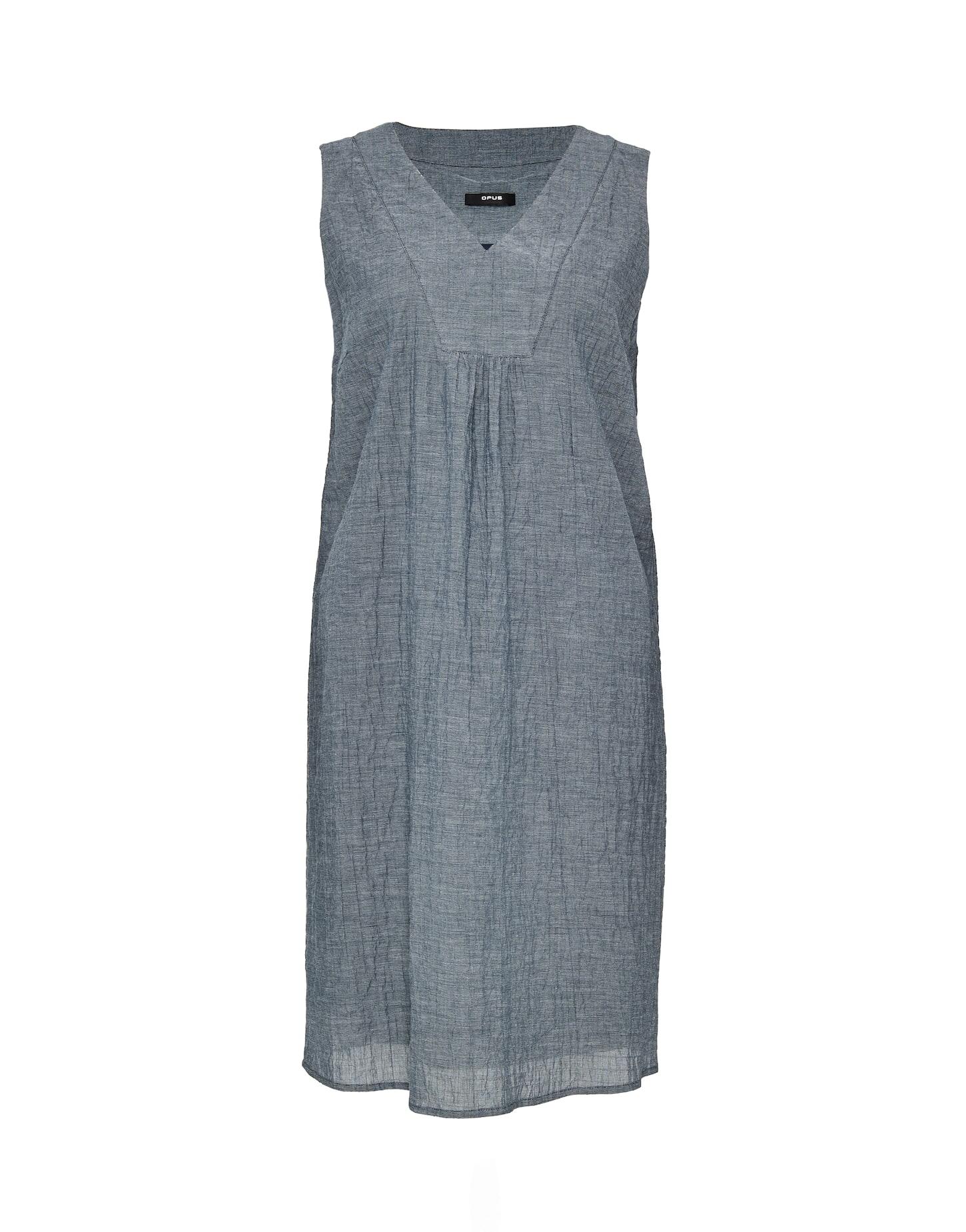 Opus Kleid Aus Baumwolle Wogeta Mystic Blue Hartmann Mode Shop